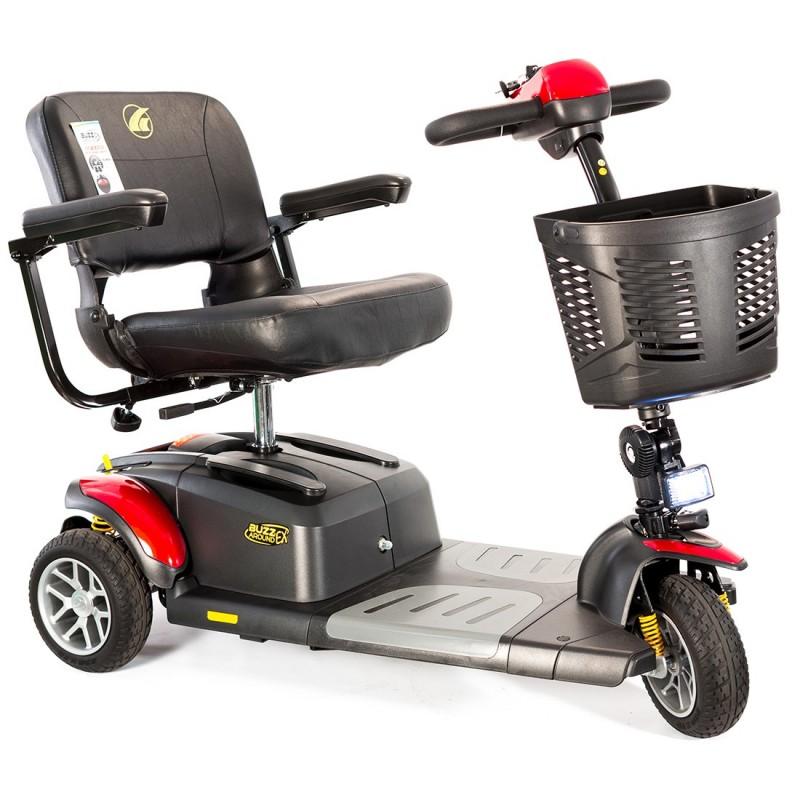 Golden Technologies Buzzaround EX Extreme 3Wheel Scooter