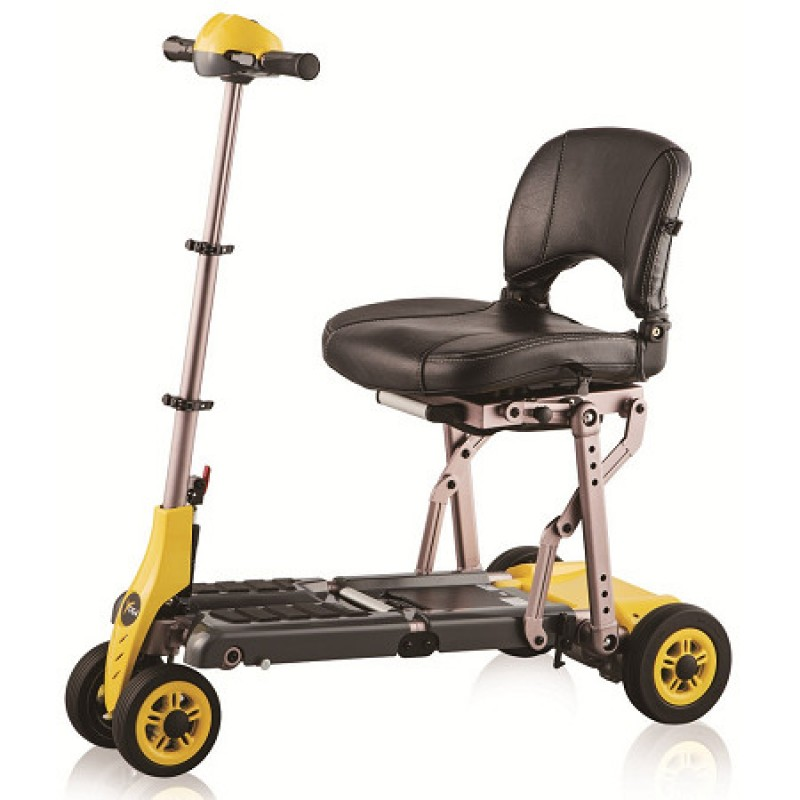 portable wheel chair ramp modern conference chairs merits health yoga folding mobility scooter - scooters