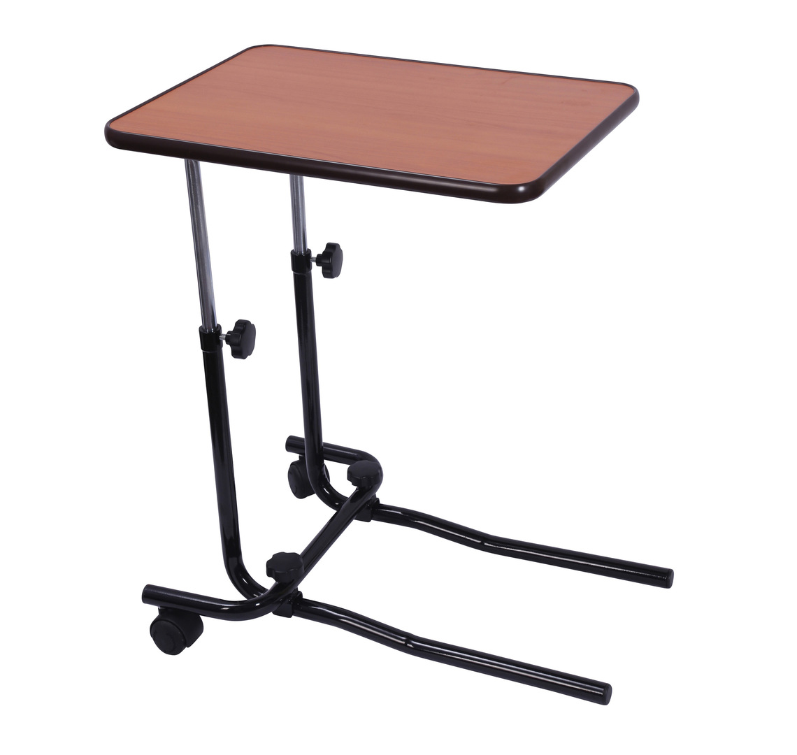 over chair tables uk best high review bed table  with castors mobility solutions