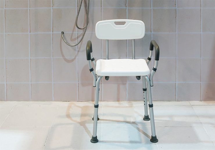 handicap shower chair club chairs swivel the 6 best for elderly and disabled in 2019