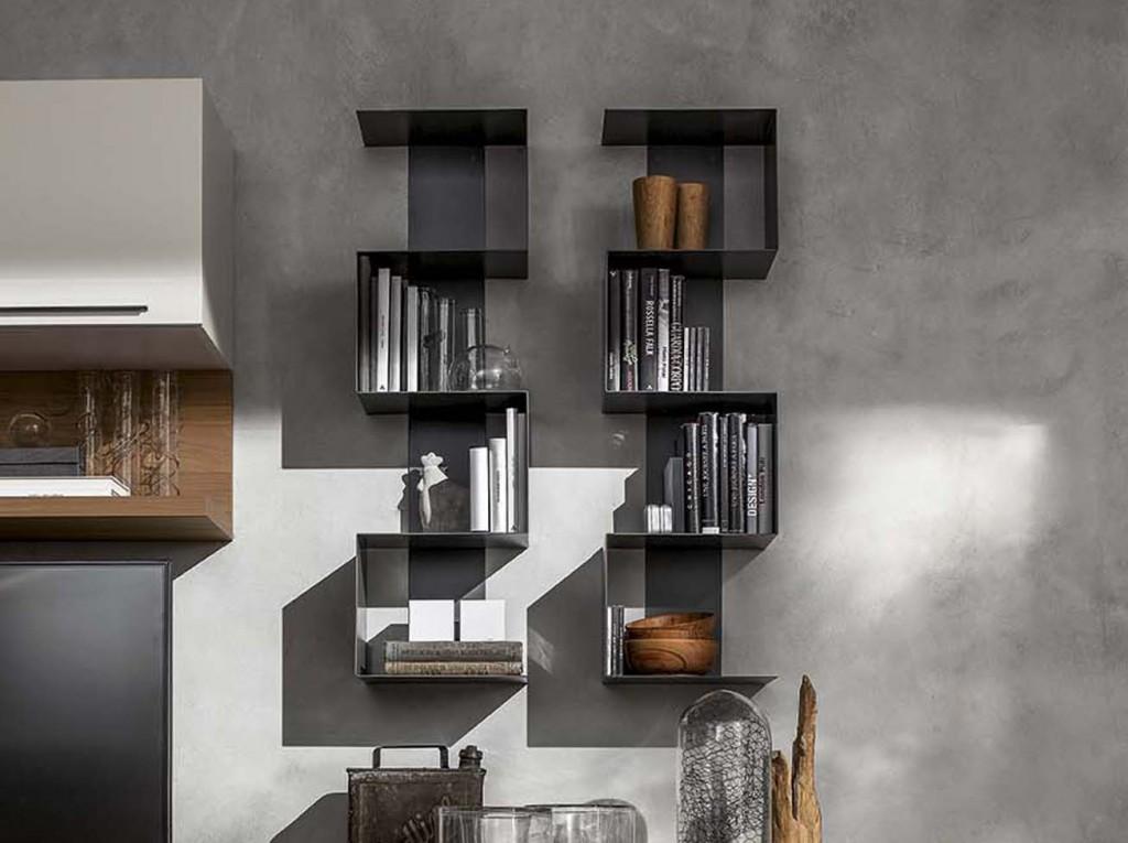 Libreria Moderna LS SNAKE  Cucine  Mobili di qualit al giusto prezzo Milano  Monza Brianza