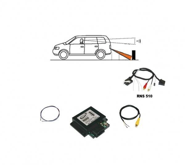 Rückfahrkamera Interface für VW RNS315/RNS510, Skoda