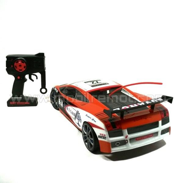 V Max Turbo Lamborghini Gallardo belakang