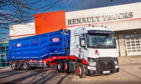 ремонт камиони рено