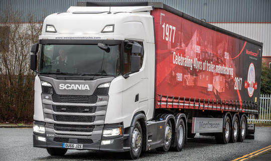 сервиз Scania