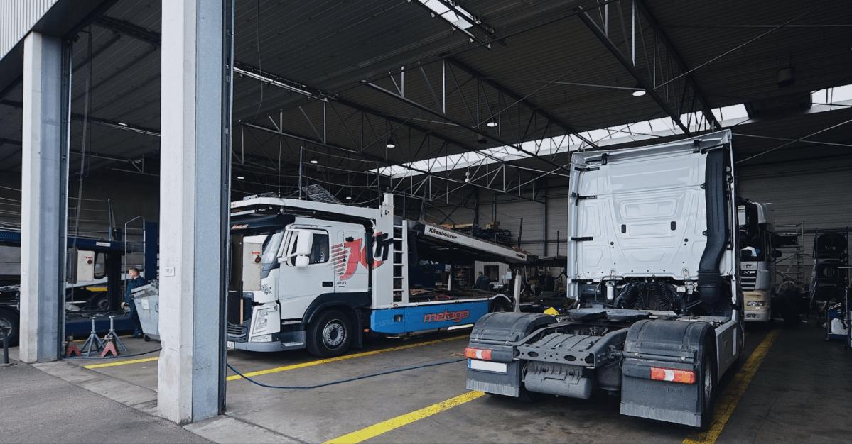 сервиз за камиони Германия