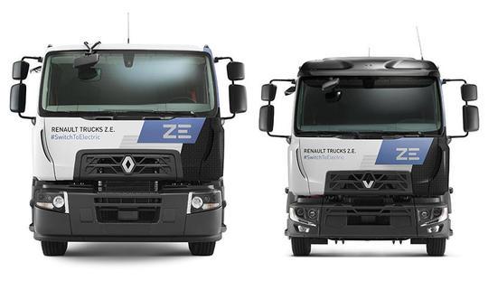 ремонт камион Renault