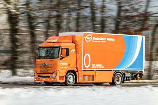 горивни клетки камион