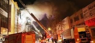 Ankara Sitelerde Mobilya Mağazasında Yangın…