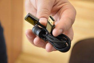XPG PRECOG przewód z USB C na USB / fot. techManiaK