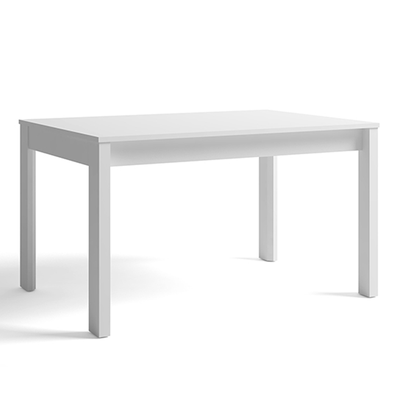 Mesa comedor rectangular extensible a 130 x 90 en color