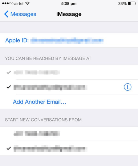 "iMessage ""Waiting for activation"" error"