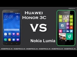 Huawei Honor 3C vs Nokia Lumia 630