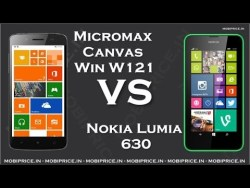 Micromax Canvas Win W121 vs Nokia Lumia 630