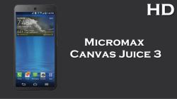 Micromax Canvas Juice 3
