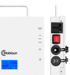 mobisun pro portable solar generator connections open [ 1000 x 1000 Pixel ]