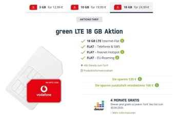 mobilcom-debitel green 18 GB VD