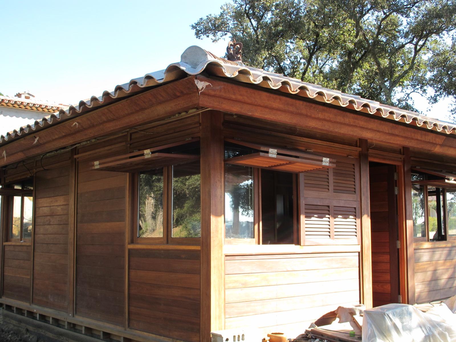 CottageBungalows pavillons bois en kit avec Mobiteck  fabricant maisons bois