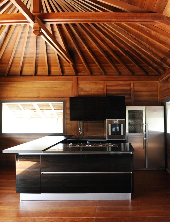 cuisine bois massif en kit