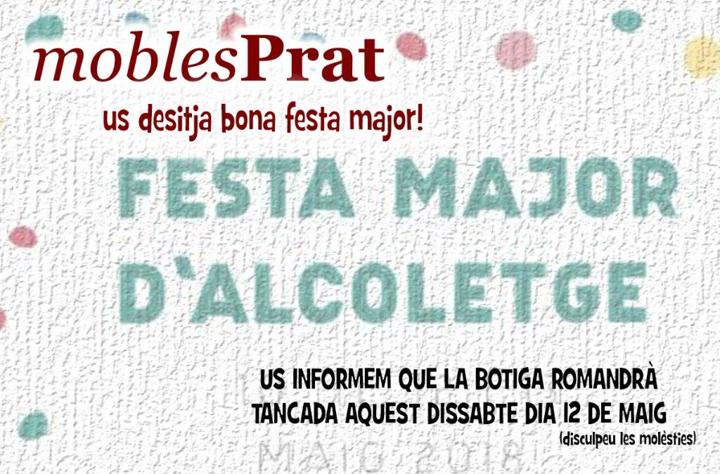 TANQUEM AQUEST DISSABTE DIA 12 DE FESTA MAJOR