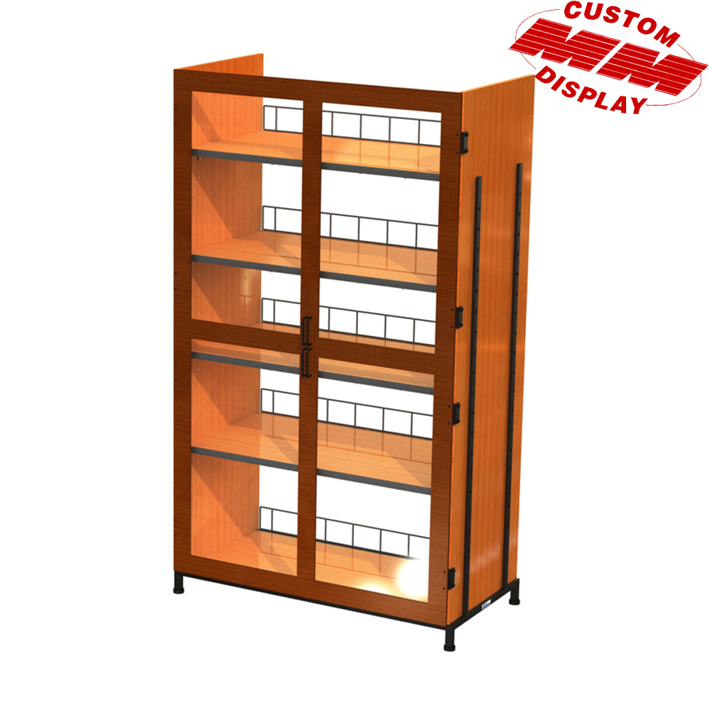 5Shelf Locking Cabinet Display