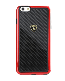 Lamborghini-Carbon Fiber Case Iphone 6