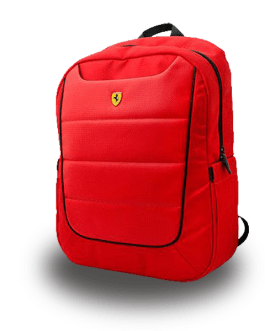 Ferrari Back Pack (Red)