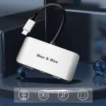 MAX&MAX 3-IN-1 USB C HUB AN STYLISH SPEEDIEST ACCESSORY