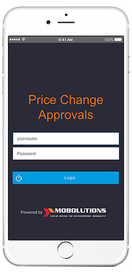 sap price change approvals app