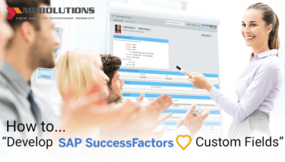 Create SAP Mobility Custom App easily for SuccessFactors | HCPms SMP