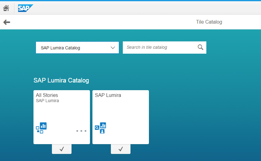 SAP Lumira Configuration