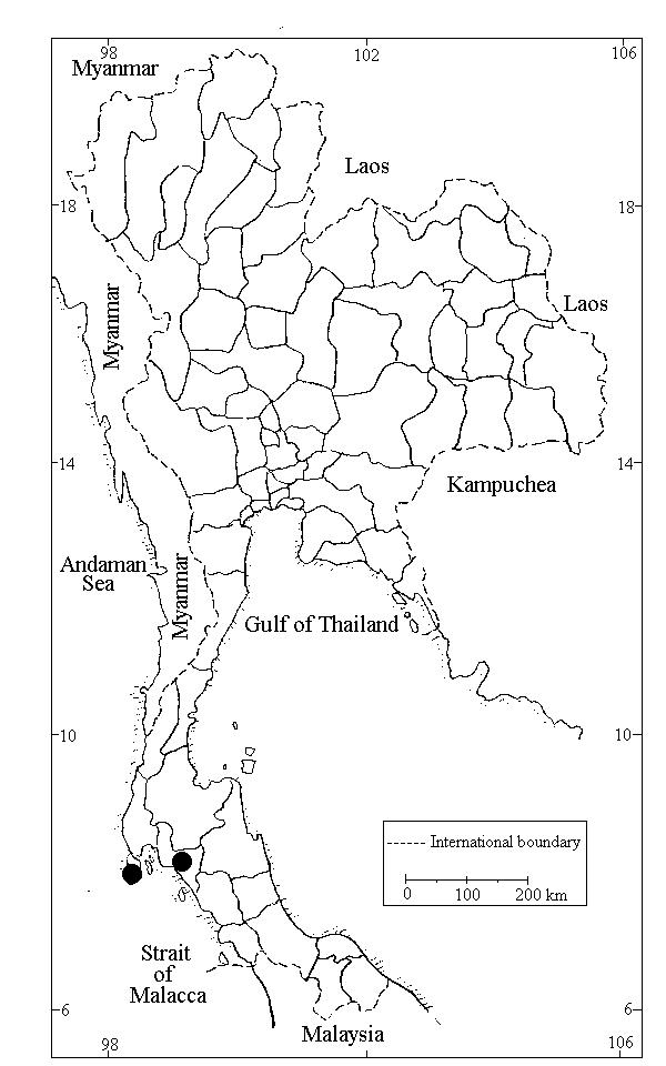 Moss Checklist of Thailand