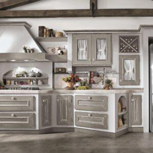 Per le finiture dei piani della cucina e dei moduli consultare l'apposita guida cucina modulare Cucine Provenzali Moby Arredamenti