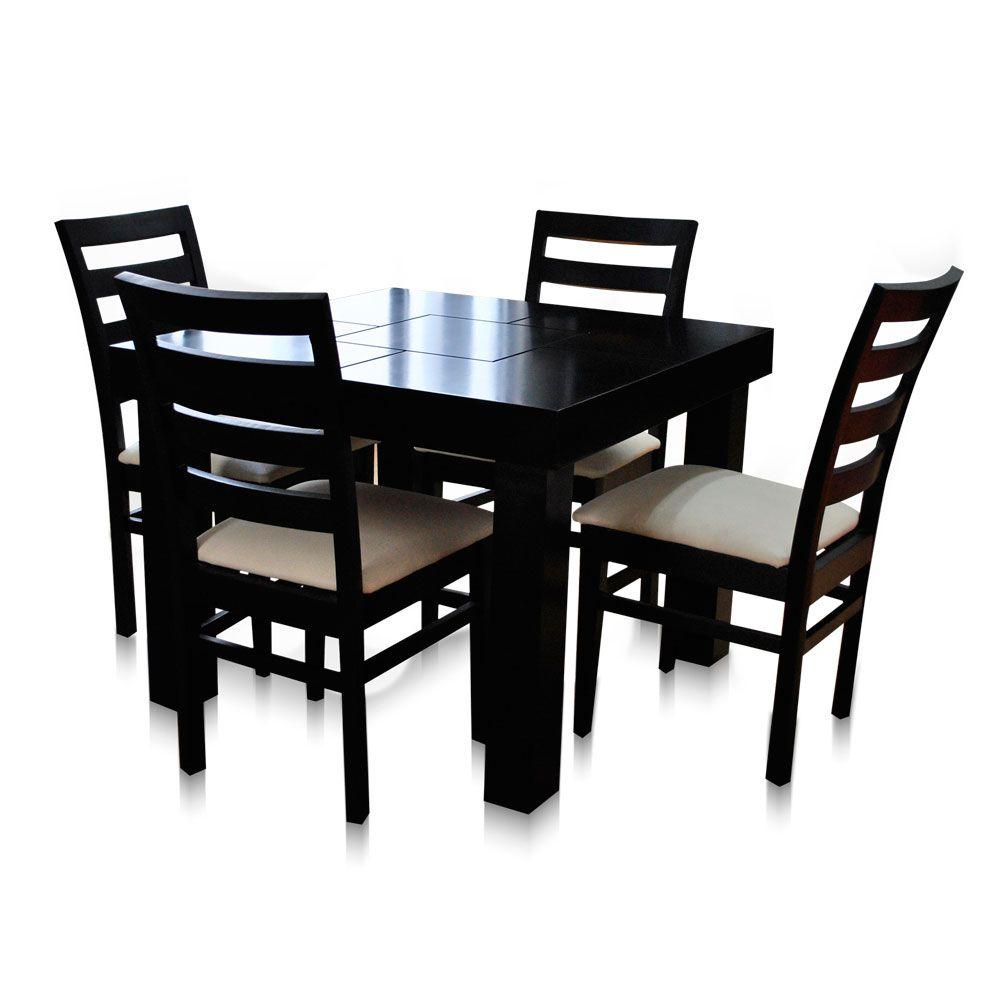 Comedor con 6 sillas Italia  Mobydec Muebles  Venta de