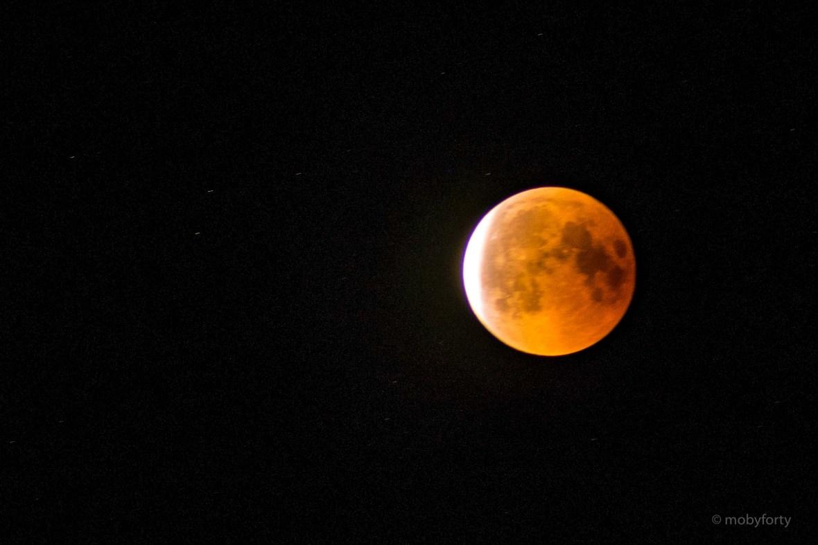 Bild der Mondfinsternis vom 27.7.2018
