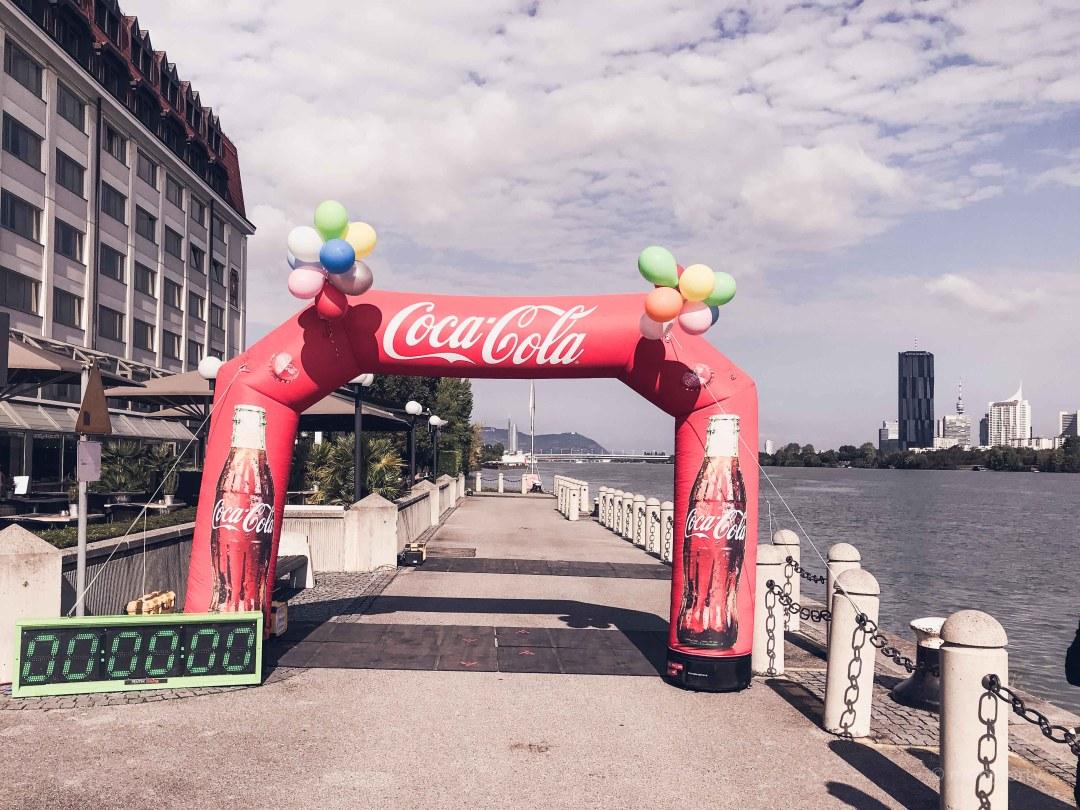 Around the world in a day Event - Start und Ziel