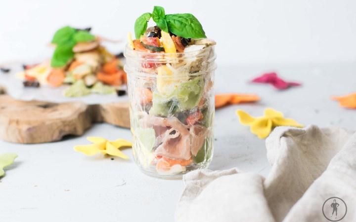 Acht schnelle Rezepte für den Arbeitsalltag Nudelsalat