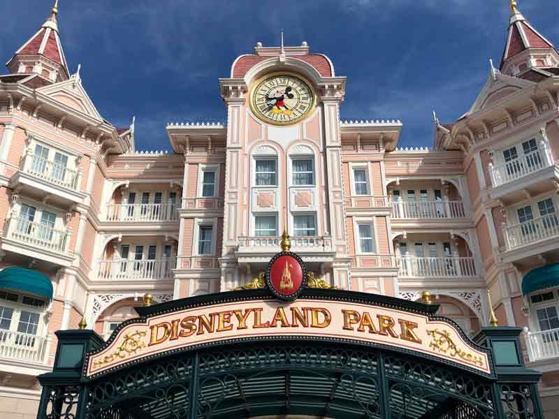 Disneyland Paris Eingang