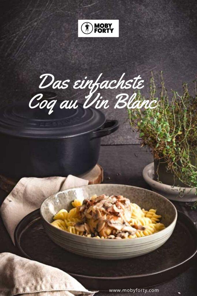 Coq au Vin Blanc Pinterest Grafik