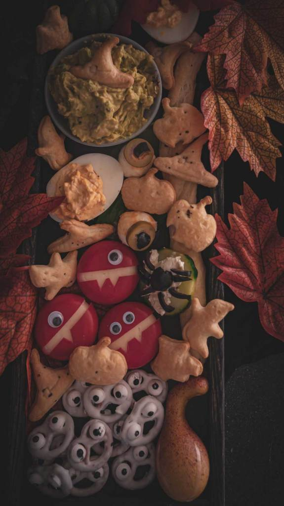 Snacks für Halloween