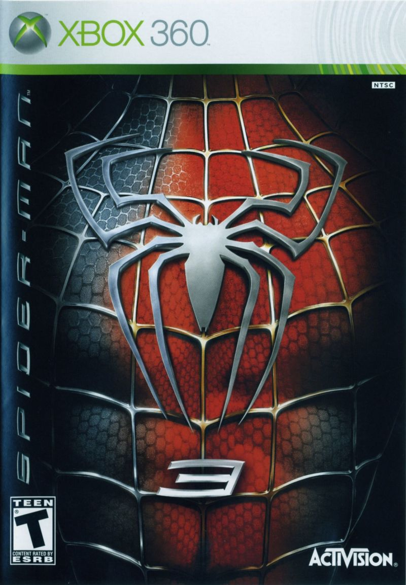 Spider Man 3 2007 Xbox 360 Box Cover Art MobyGames