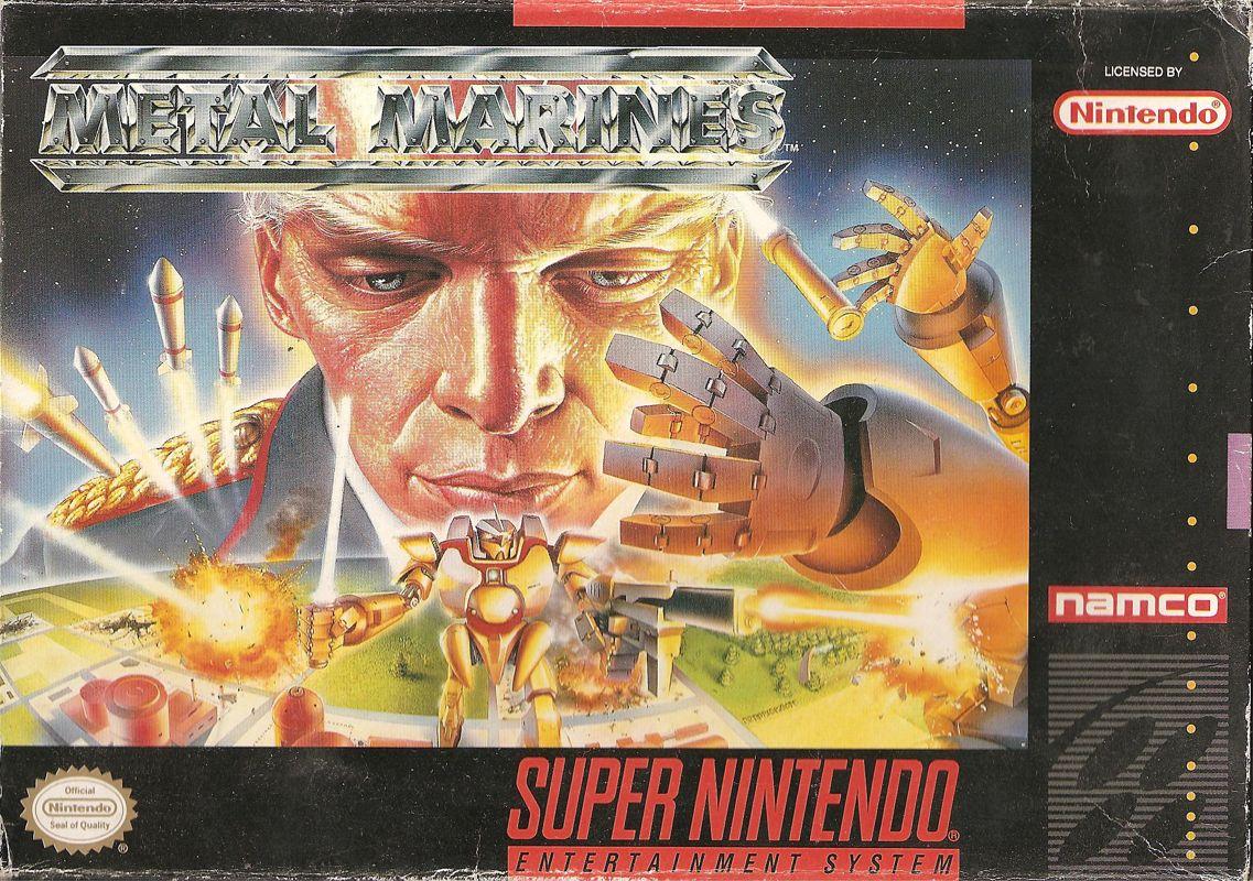 metal marines 1993 snes