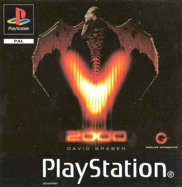 V2000 PlayStation Front Cover