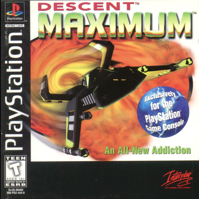 Descent Maximum For PlayStation 1997 MobyGames