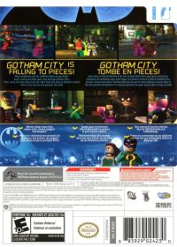 LEGO Batman: The Videogame (2008) Wii box cover art ...