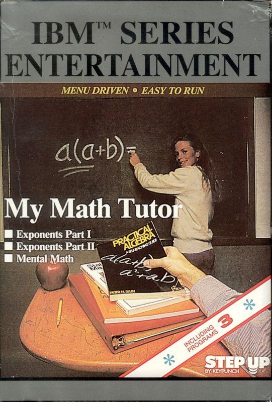 My Math Tutor 1993 DOS box cover art  MobyGames