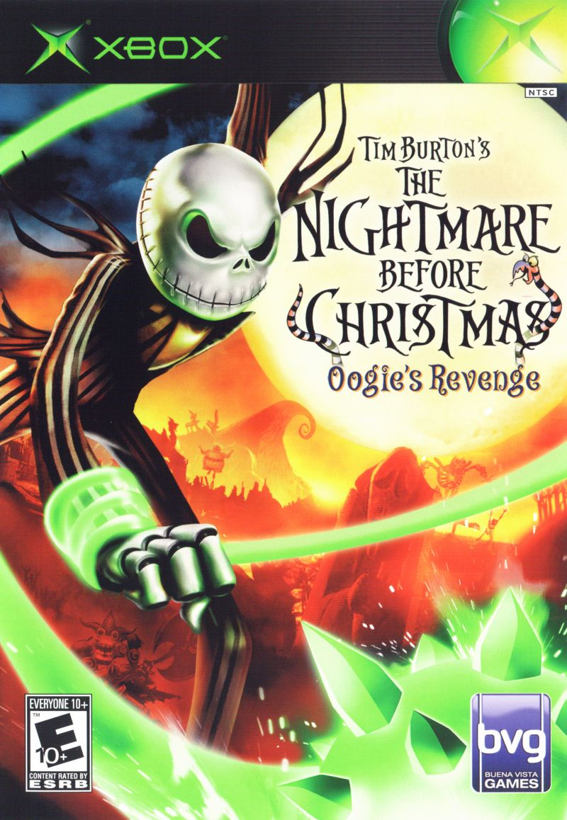 Nightmare Christmas Playstation Game