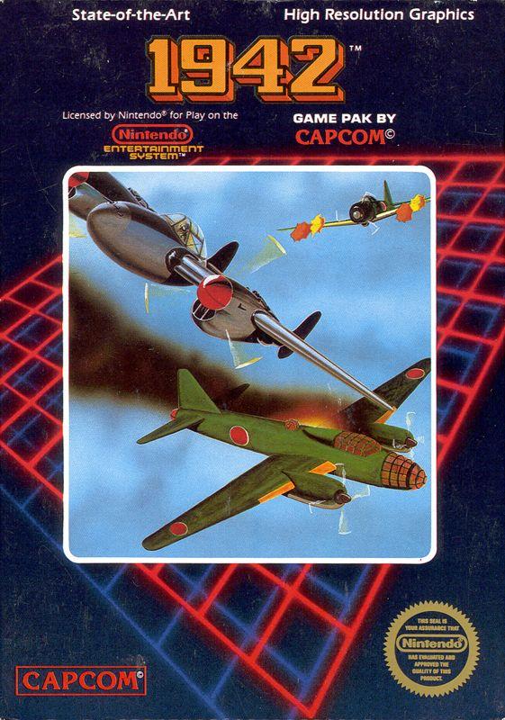 1942 1986 Amstrad CPC box cover art  MobyGames