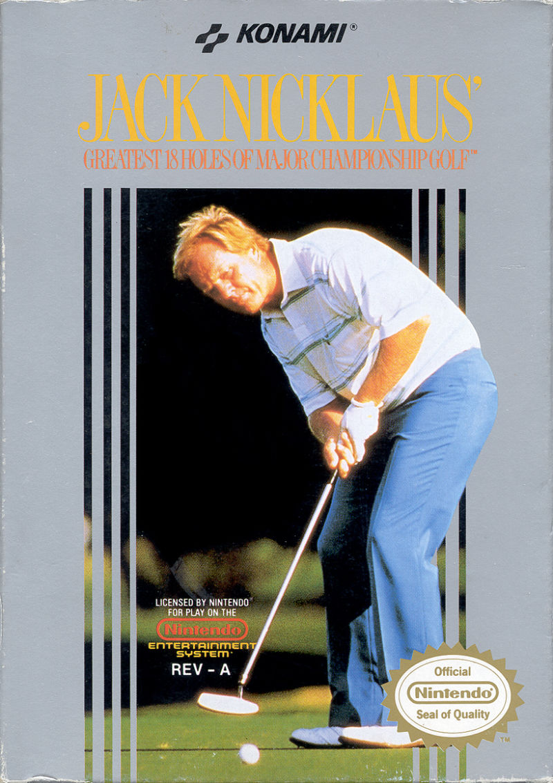 Jack Nicklaus Greatest 18 Holes of Major Championship