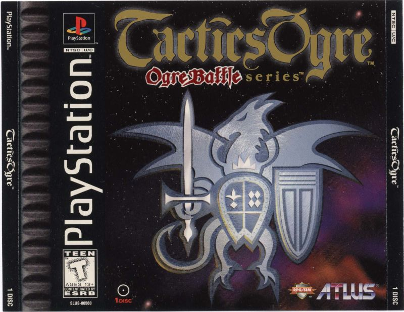 Tactics Ogre for PlayStation 1997  MobyGames
